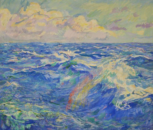 Пейзаж тропического океана