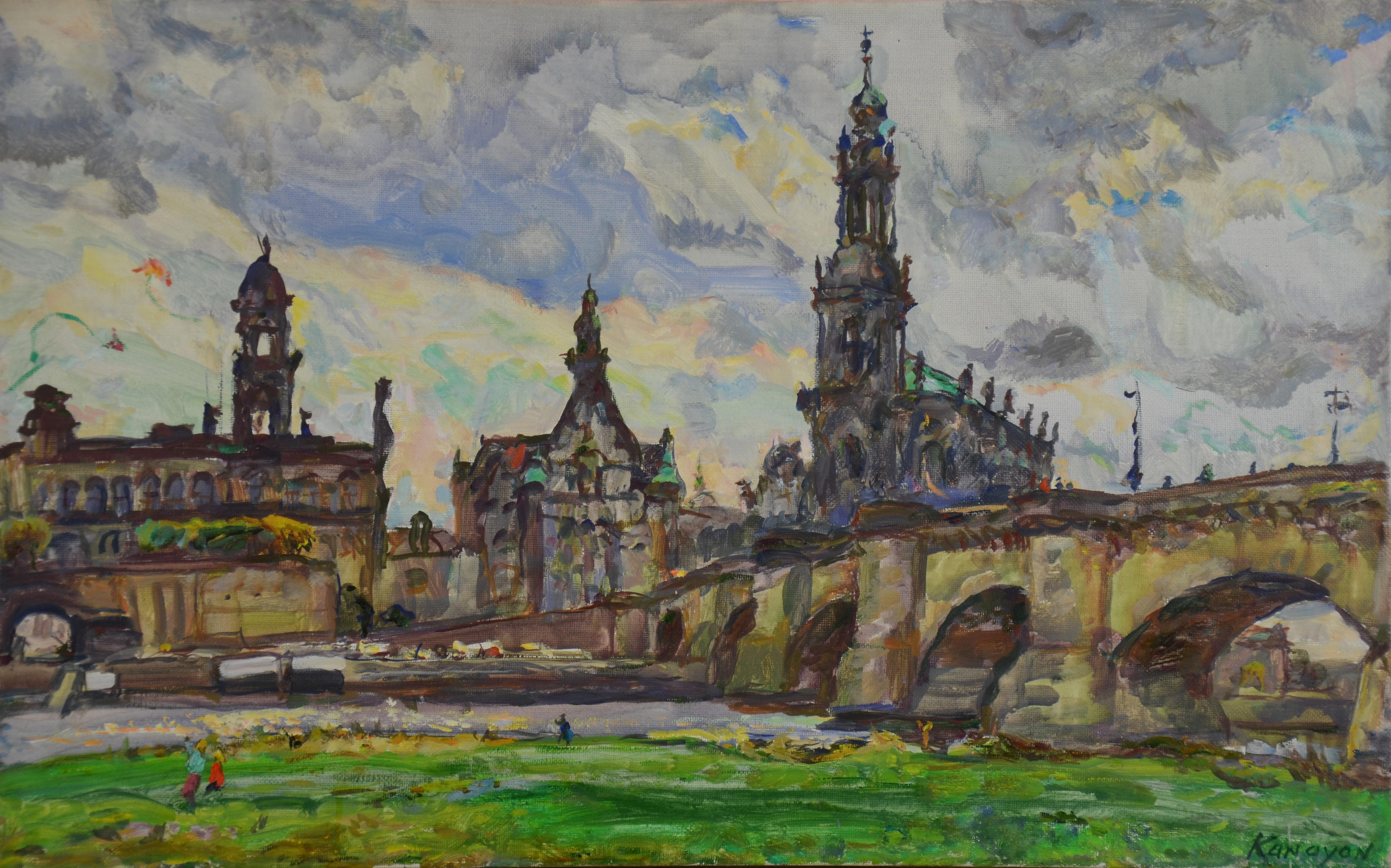 Мост Августа Сильного в Дрездене