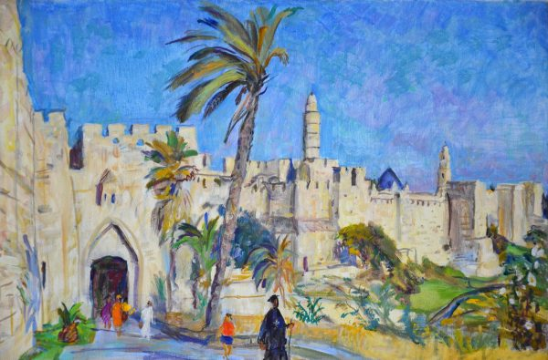 Иерусалим, Старый город с Башней Давида